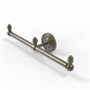 Allied Brass BPPR-HTB-2-ABR Prestige Regal Collection 2 Arm Guest Towel Holder, Antique Brass