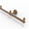 Allied Brass BPWP-HTB-2-BBR Waverly Place Collection 2 Arm Guest Towel Holder, Brushed Bronze