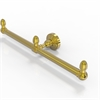 Allied Brass BPWP-HTB-2-PB Waverly Place Collection 2 Arm Guest Towel Holder, Polished Brass