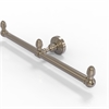 Allied Brass BPWP-HTB-2-PEW Waverly Place Collection 2 Arm Guest Towel Holder, Antique Pewter