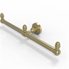 Allied Brass BPWP-HTB-2-SBR Waverly Place Collection 2 Arm Guest Towel Holder, Satin Brass