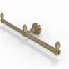 Allied Brass BPWP-HTB-2-UNL Waverly Place Collection 2 Arm Guest Towel Holder, Unlacquered Brass
