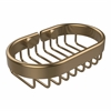 Allied Brass BSK-150LA-BBR Oval Soap Basket, Brushed Bronze