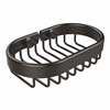 Allied Brass BSK-150LA-ORB Oval Soap Basket, Oil Rubbed Bronze