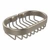 Allied Brass BSK-150LA-PEW Oval Soap Basket, Antique Pewter