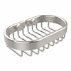 Allied Brass BSK-150LA-PNI Oval Soap Basket, Polished Nickel