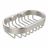 Allied Brass BSK-150LA-PNI Oval Soap Basket, Polished Nickel