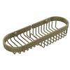 Allied Brass BSK-175LA-ABR Combination Wire Basket, Antique Brass