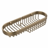 Allied Brass BSK-175LA-BBR Combination Wire Basket, Brushed Bronze