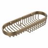 Allied Brass BSK-175LA-BBR Combination Wire Basket, Brushed Bronze