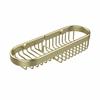 Allied Brass BSK-175LA-SBR Combination Wire Basket, Satin Brass