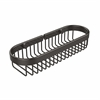Allied Brass BSK-200LA-ORB Oval Toiletry Wire Basket, Oil Rubbed Bronze