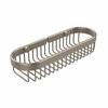 Allied Brass BSK-200LA-PEW Oval Toiletry Wire Basket, Antique Pewter