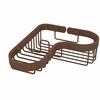 Allied Brass BSK-225LA-ABZ Corner Combination Shower Basket, Antique Bronze