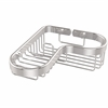 Allied Brass BSK-225LA-PC Corner Combination Shower Basket, Polished Chrome