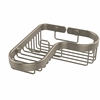 Allied Brass BSK-225LA-PEW Corner Combination Shower Basket, Antique Pewter