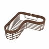 Allied Brass BSK-250LA-ABZ Corner Toiletry Shower Basket, Antique Bronze