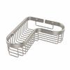 Allied Brass BSK-250LA-SN Corner Toiletry Shower Basket, Satin Nickel