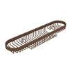 Allied Brass BSK-275LA-ABZ Oval Combination Shower Basket, Antique Bronze