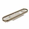 Allied Brass BSK-275LA-BBR Oval Combination Shower Basket, Brushed Bronze