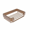 Allied Brass BSK-30SR-BBR Rectangular Soap Basket, Brushed Bronze