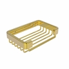 Allied Brass BSK-30SR-PB Rectangular Soap Basket, Polished Brass