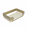 Allied Brass BSK-30SR-SBR Rectangular Soap Basket, Satin Brass