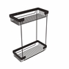 Allied Brass BSK-60DR-ORB Double Tier Rectangular Toiletry Shower Basket, Oil Rubbed Bronze