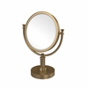 Allied Brass DM-4G/2X-BBR 8 Inch Vanity Top Make-Up Mirror 2X Magnification, Brushed Bronze