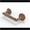 Allied Brass DT-24-BBR Dottingham Collection 2 Post Toilet Tissue Holder, Brushed Bronze