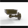 Allied Brass DT-32-ABR Dottingham Collection Wall Mounted Soap Dish, Antique Brass
