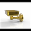 Allied Brass DT-32-PB Dottingham Collection Wall Mounted Soap Dish, Polished Brass