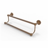 Allied Brass DT-72/18-BBR Dottingham Collection 18 Inch Double Towel Bar, Brushed Bronze