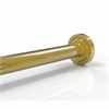 Allied Brass DT-98-PB Dottingham Collection Shower Rod Brackets, Polished Brass