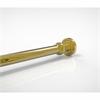 Allied Brass DT-99-PB Dottingham Collection Shower Rod Brackets, Polished Brass