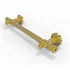 Allied Brass DT-GRR-36-UNL 36 inch Grab Bar Reeded, Unlacquered Brass