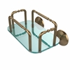 Allied Brass GT-2-MC-BBR Monte Carlo Wall Mounted Guest Towel Holder, Brushed Bronze