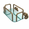 Allied Brass GT-2-PR-BBR Prestige Wall Mounted Guest Towel Holder, Brushed Bronze