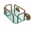 Allied Brass GT-2-QN-BBR Que New Wall Mounted Guest Towel Holder, Brushed Bronze