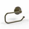 Allied Brass MC-24E-ABR Monte Carlo Collection European Style Toilet Tissue Holder, Antique Brass