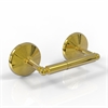 Allied Brass MC-24-UNL Monte Carlo Collection 2 Post Toilet Tissue Holder, Unlacquered Brass
