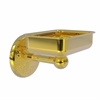 Allied Brass MC-32-PB Monte Carlo Collection Wall Mounted Soap Dish, Polished Brass