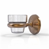 Allied Brass MC-64-BBR Monte Carlo Collection Wall Mounted Votive Candle Holder, Brushed Bronze