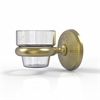 Allied Brass MC-64-SBR Monte Carlo Collection Wall Mounted Votive Candle Holder, Satin Brass