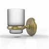 Allied Brass MC-66-SBR Monte Carlo Collection Wall Mounted Tumbler Holder, Satin Brass