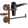 Allied Brass MC-GTBD-1-ABZ Monte Carlo Collection Hair Dryer Holder and Organizer, Antique Bronze