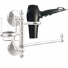 Allied Brass MC-GTBD-1-PC Monte Carlo Collection Hair Dryer Holder and Organizer, Polished Chrome