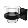 Allied Brass MT-64-BKM Montero Collection Wall Mounted Votive Candle Holder, Matte Black