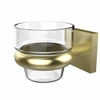Allied Brass MT-64-SBR Montero Collection Wall Mounted Votive Candle Holder, Satin Brass