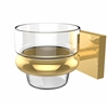 Allied Brass MT-64-UNL Montero Collection Wall Mounted Votive Candle Holder, Unlacquered Brass